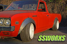 SSworxs Datsun 620 521 520 Metal Fender Flares Kyusha Wide Pickup Truck Japan