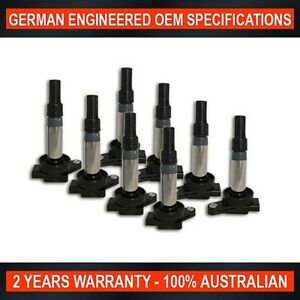 8x Swan Ignition Coil for Jaguar S-Type XF XJ XJ8 XJR XK XK8 XKR 3.5L 4.2L 5.0L