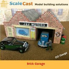 Model Railways OO Gauge FULL 6 Mould building kit - Includes roof Mould