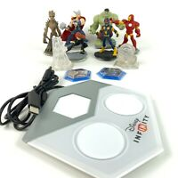 Marvel Disney Infinity for Xbox 360 Game Lot Figures, Base & More!!