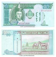 Mongolia 10 Tugrik 2007  P-62d  Banknotes  UNC
