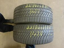 2 X CONTINENTAL WINTER CONTACT TS830P RUNFLAT 225/40X18 PARTWORN TYRES (1477/78)