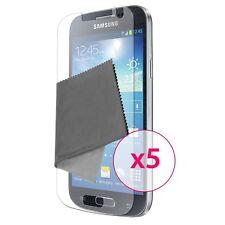 Films de protection Clear HD Galaxy S4 Mini i9195 i9190 Lot de 5