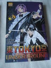 Tokyo Underground, Tome 6 Akinobu Uraku TAIFU MANGA FANTASTIQUE SCIENCE FICTION