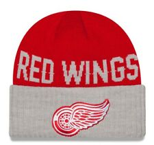 "Detroit Red Wings New Era NHL ""Classic Cover"" Cuffed Knit Hat"