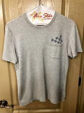 Louis Vuitton Gray Damier Pocket Crew Neck T-Shirt Size Medium