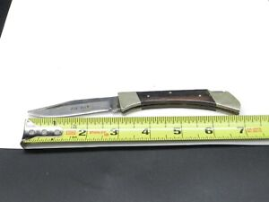 1966-1982 Ka-Bar Cleveland Ohio # 1606 Lockback Pocket Knife Japan