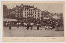 CPA -69-  LYON - Concours de boules de la place Bellecour.