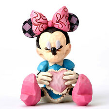 Disney*Mini Minnie Mouse with Heart*Jim Shore*New*Nib*Buy More & Save*4054285