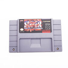 For SNES Super Street Fighter II: The New Challengers US-Version Card Cart Only