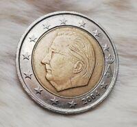 2 Euro Münze 2004 Belgien (FEHLPRÄGUNG!)