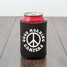 Good Morning Campers beer can cooler/Camping/Beer/Funny drinks gift/novelty gift