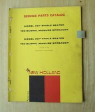 New Holland Model 327 Manure Spreader Service Parts Catalog Manual