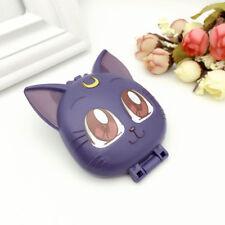 Sailor Moon Cartoon Luna Cat Folding Makeup Mirror Chibi usa Cosplay Collection