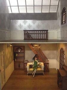 Doll house Room Box  Two Storey Villa B~ 1:6 Pullip Blythe Momoko Monster Barbie