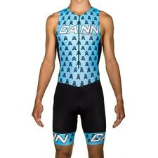 Cannibal Triathlon Mens Tri Suit Padded Compression Swimming Cycling Running