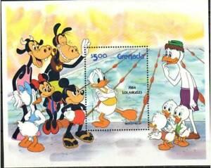 Grenada Stamp - 84 Olympics-Disney Stamp - NH