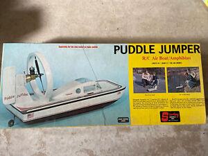 Vintage Sterling Models Puddle Jumper RC Air Boat Amphibian New Kit B26 USA