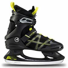 K2 Men's F.I.T. Ice Pro Skates, Black - Lime, EU: 43.5 (UK: 9 / US: 10)