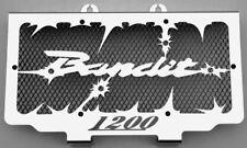 """cache / Grille de radiateur 1200 GSF Bandit 1996>2000 """"Hold up"""" + grilllage noir"""