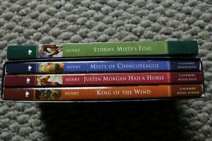 Misty of Chincoteague Box Set | 4 Books, Newberry Medal, Marguerite Henry
