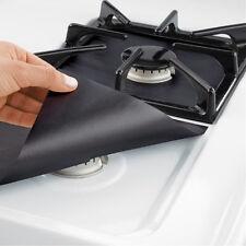 2Pcs Reusable Gas Range Stovetop Stove Burner Protector Liner Cover Hot Sale!