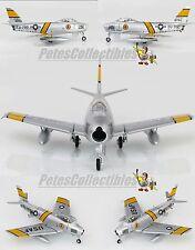 "HOBBY MASTER HA4314B F-86E Sabre Fighter Charles ""Chick"" Cleveland Korea 1/72"