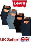 Levis 501 Jeans Mens Button Fly Regular Levi's Jeans Stonewash Indigo Black
