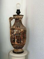 Ancienne Pied de Lampe Hauteur 52 cm DÉCOR ÉGYPTIENS  GERMANY
