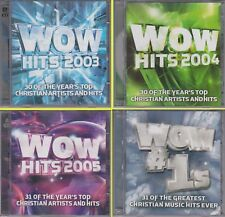 WOW HITS 2003 2004 2005 #1's 31 Greatest Christian Music Ever 8 CD Lot 127 Songs