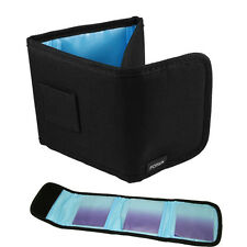 3 Slot Pocket Camera Uv Cpl Nd Ir Filter Case Pouch Wallet Bag f 58 62 67 72 77