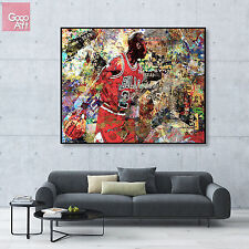 Canvas print wall art photo huge big poster decor Michael Jordan nba mvp bulls