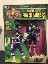 Power Rangers Karate Action Figure Billy