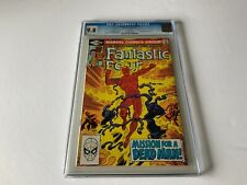 FANTASTIC FOUR 233 CGC 9.8 WHITE PAGES GREAT COVER JOHN BYRNE MARVEL COMICS 1981