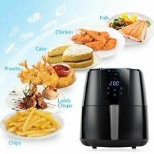 PureMate 4.2L Digital Air Fryer, Low Fat Oil Free - Timer & 7 Preset Modes 1400W