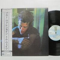 TOM WAITS - BLUE VALENTINE LP 1978 JAPAN PRESS ASYLUM P-10604Y w/ obi, insert