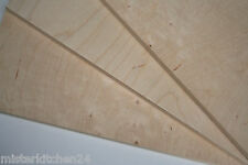 5 x Qualitäts-Sperrholz 6mm Birke 50x30 Platte Holz Multiplex Modellbau basteln