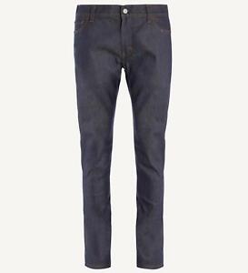 NEW mens 28W 32L Acne Studios Blå Konst North Indigo Slim Fit Denim Jeans