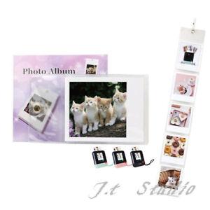5x Pocket Clear Wall Hanging Album Instax Mini SQ10、SP-3 Photo Display