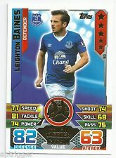 2015 / 2016 EPL Match Attax Base Card (93) Leighton BAINES Everton