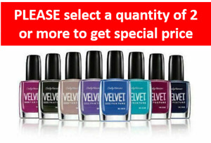 Sally Hansen Velvet Texture Nail Color ~Choose Color~BUY 2 FOR THE PRICE OF 1~e6