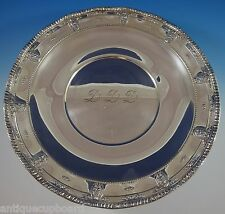 """Rose Point by Wallace Sterling Silver Serving Platter 18"""" Huge #4381 (#1101)"""