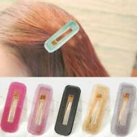 Women Sweet colorful Snap Barrette Hairpins Hair Accessories