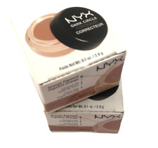 Lot of 2 NYX Dark Circle Concealer 1 Oz. - DCC04 DEEP - New