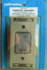 Caltronics Telephone Phone Sandwich Connector Modget Super Tap Port 71-180-29