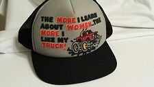 Vintage Truckers  Retro Mesh Snap Back Made in the USA foam hat cap humor funny