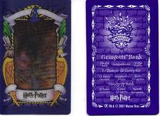 Harry Potter.  Chocolate frog card.  Gringotts Bank 2