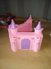 Disney Princess castle pink purple Preowned