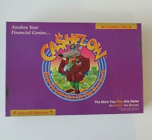 Cashflow Board Game - How to Get Out of the Rat Race - Rich Dad Poor Dad 1999