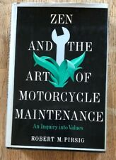 Pursue. Zen and the Art of Motorcycle Maintenance 5th Pr 1974 HB